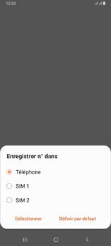 Samsung Galaxy A80 - Contact, Appels, SMS/MMS - Ajouter un contact - Étape 6