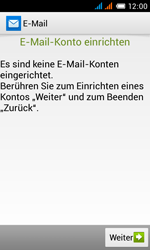 Alcatel Pop C3 - E-Mail - Konto einrichten - 6 / 25