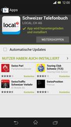 Sony Xperia Z - Apps - Installieren von Apps - Schritt 9