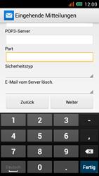 Alcatel One Touch Idol Mini - E-Mail - Manuelle Konfiguration - Schritt 14