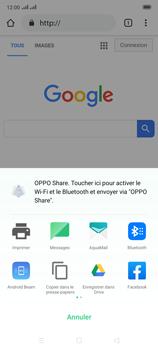 Oppo Reno 2 - Internet et connexion - Naviguer sur internet - Étape 22