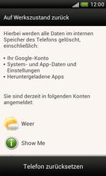 HTC Desire X - Fehlerbehebung - Handy zurücksetzen - 8 / 10