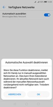 Huawei Y7 (2018) - Netzwerk - Manuelle Netzwerkwahl - Schritt 7