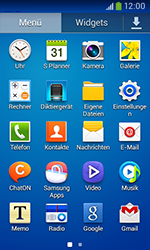 Samsung Galaxy Core Plus - SMS - Manuelle Konfiguration - 2 / 2