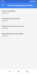 Sony Xperia XZ2 Compact - Android Pie - Anrufe - Rufumleitungen setzen und löschen - Schritt 9