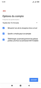 Xiaomi Mi Mix 3 5G - E-mail - 032c. Email wizard - Outlook - Étape 11