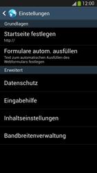 Samsung Galaxy S4 LTE - Internet - Manuelle Konfiguration - 20 / 26