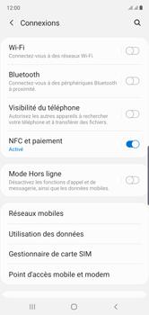Samsung Galaxy Note 10 - Internet et connexion - Partager votre connexion en Wi-Fi - Étape 5