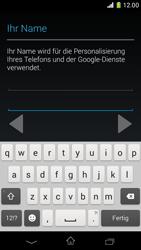 Sony Xperia Z1 Compact - Apps - Konto anlegen und einrichten - Schritt 6
