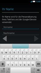 Alcatel Idol S - Apps - Konto anlegen und einrichten - 5 / 25