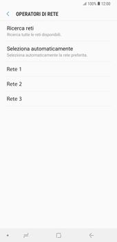 Samsung Galaxy Note9 - Rete - Selezione manuale della rete - Fase 10