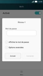 Huawei Y5 - Internet et connexion - Accéder au réseau Wi-Fi - Étape 6