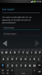 HTC Desire 601 - apps - account instellen - stap 5