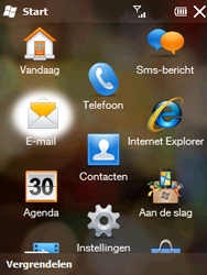 HTC T3333 Touch II - e-mail - hoe te versturen - stap 3