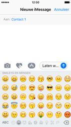 Apple iPhone SE - iOS 10 - iOS features - Stuur een iMessage - Stap 15