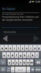 Sony Xperia J - Apps - Einrichten des App Stores - Schritt 6