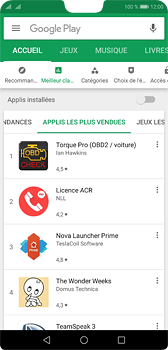 Huawei P20 - Applications - Installation d