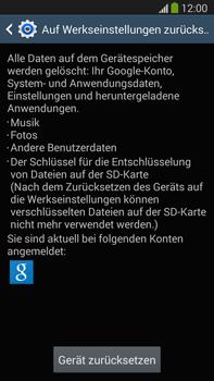 Samsung Galaxy Note 3 LTE - Fehlerbehebung - Handy zurücksetzen - 2 / 2