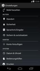 LG D821 Google Nexus 5 - Fehlerbehebung - Handy zurücksetzen - Schritt 6