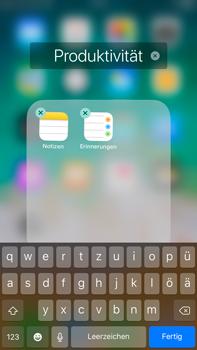 Apple iPhone 6 Plus - iOS 11 - Startanleitung - Personalisieren der Startseite - Schritt 7