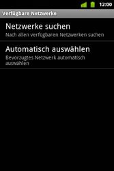 Alcatel OT-983 - Netzwerk - Manuelle Netzwerkwahl - Schritt 7