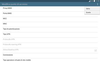 Samsung T535 Galaxy Tab 4 10.1 - MMS - Configurazione manuale - Fase 15