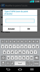 LG G2 - Internet - Configuration manuelle - Étape 15
