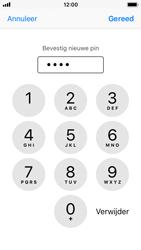 Apple iPhone SE met iOS 11 (Model A1723) - Beveiliging en ouderlijk toezicht - Hoe wijzig ik mijn SIM PIN-code - Stap 11