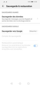 Huawei Y5 (2019) - Données - créer une sauvegarde avec votre compte - Étape 5