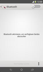 Sony Xperia E1 - Bluetooth - Geräte koppeln - Schritt 7