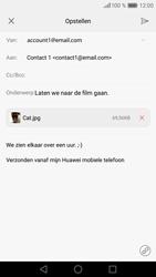 Huawei P9 - E-mail - hoe te versturen - Stap 16