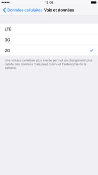 Apple iPhone 6 Plus iOS 9 - Réseau - Changer mode réseau - Étape 6