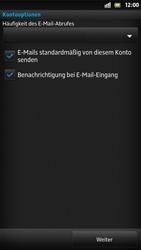 Sony Xperia S - E-Mail - Konto einrichten - Schritt 14