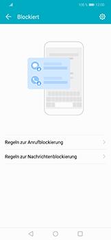 Huawei Honor Play - Anrufe - Anrufe blockieren - Schritt 5
