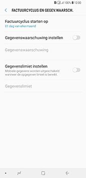 Samsung Galaxy A7 (2018) - internet - mobiele data managen - stap 9