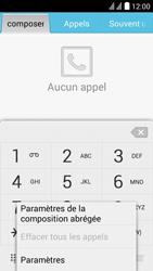 Huawei Y625 - Messagerie vocale - configuration manuelle - Étape 5