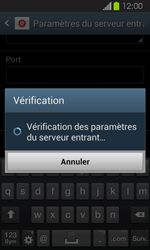 Samsung Galaxy Express - E-mail - Configuration manuelle - Étape 11