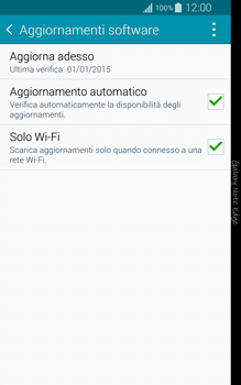 Samsung Galaxy Note Edge - Software - Installazione degli aggiornamenti software - Fase 7