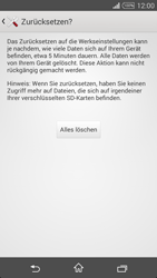 Sony Xperia T3 - Fehlerbehebung - Handy zurücksetzen - 9 / 11