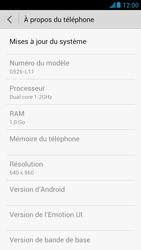 Huawei Ascend G526 - Logiciels - Installation de mises à jour - Étape 6