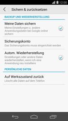 Huawei Ascend P7 - Fehlerbehebung - Handy zurücksetzen - Schritt 7