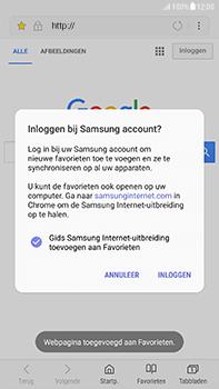 Samsung Galaxy J7 (2017) - Internet - hoe te internetten - Stap 10