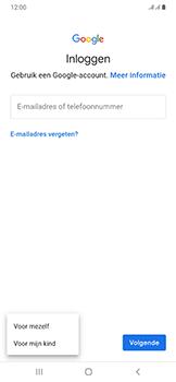 Samsung galaxy-a50-dual-sim-sm-a505fn - Applicaties - Account aanmaken - Stap 6