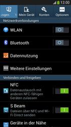 Samsung Galaxy S 4 Mini LTE - Internet und Datenroaming - Prüfen, ob Datenkonnektivität aktiviert ist - Schritt 4