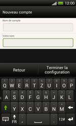 HTC One SV - E-mail - Configuration manuelle - Étape 17