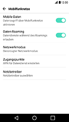 LG X Power - Ausland - Im Ausland surfen – Datenroaming - 2 / 2