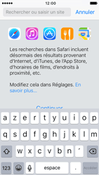 Apple iPhone 5c iOS 9 - Internet - Navigation sur Internet - Étape 3