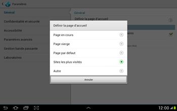 Samsung Galaxy Tab 2 10.1 - Internet et roaming de données - Configuration manuelle - Étape 22