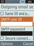Samsung B2100 Xplorer - E-mail - Manual configuration - Step 22
