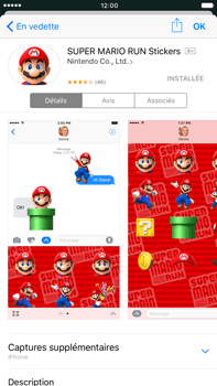 Apple Apple iPhone 6s Plus iOS 10 - iOS features - Envoyer un iMessage - Étape 20